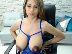 Amateur, Masturbation, Mamelons, Solo, Adolescente, Webcam
