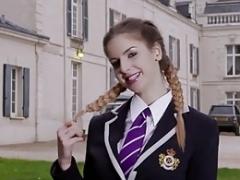 Schoolgirl Stella Cox Backdoor