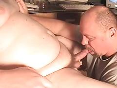 Chubby blowjob