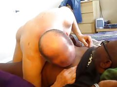 Big Black Daddy Loves My Nipples And Both My Holes.