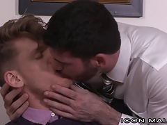 Boss Man Billy Santoro Seduces Straight Employee