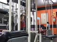 Gilson Goes Barebacked Sex with Rafael at the Gym