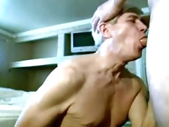 Older men sucking and fucking with another older mature men