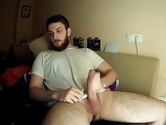 hairy real man