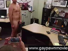 Naked amateur masturbates for gay cash on spycam