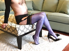 FF Stockings Tease