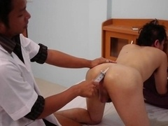 Doctor Twink Fingering And plus Masturbating The Patient