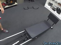 Amateur drilled on spycam