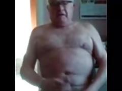 73 Old man cumming