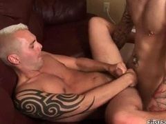 Excited gay getting down and plus dirty and plus blowing off gay porn