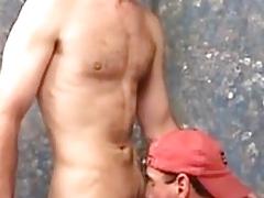 Rim, suck and cum
