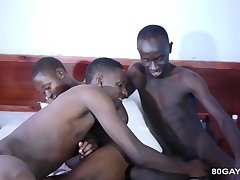 Black African Raw Twink Orgy
