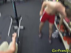 Ripped amateur work out