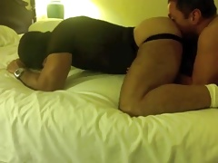 Muscleslave cleans boot