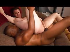 White man wants a really big black cock