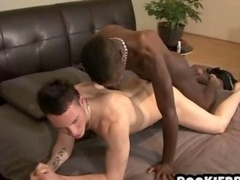 Rookie british interracial butthole licking and besides hard backdoor