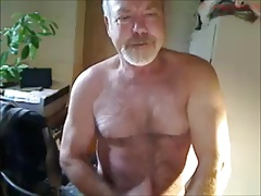 Hot mature man cumming
