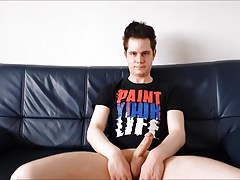 Toby the German Boy gets an orgasm 2 - paint your life