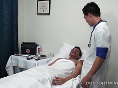 Kinky Asian Twink Medical Fetish Ass Play