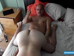 Horny Daddy Serviced