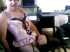 cumpilation crossdressing lingerie masturbating