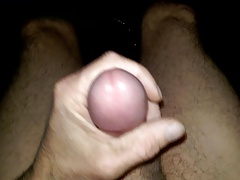 jacking off thick cum