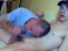 Straight Boy Sucked for the first time