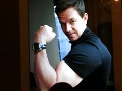 Mark Wahlberg Male Celebrity Cum Tribute