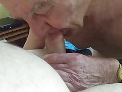 Danielle (Old TV) sucking Rob's cock (Part 7)