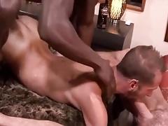 Two huge cocks release Dek's tension