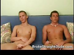 Super horny hetero guys jerking, fucking and sucking gay guys