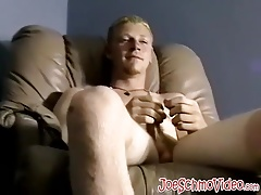 Sexy blonde dude gets to pillage some sweet fat booty