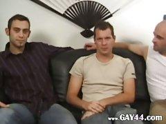 Hot cock suckers threesome