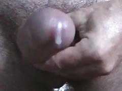 close up thick cum