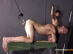Jared Double Fuck DP Deepthroat Self Torture DreamBoyBondage