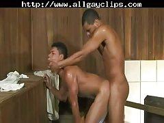 Brazilian Studs Bareback Sex