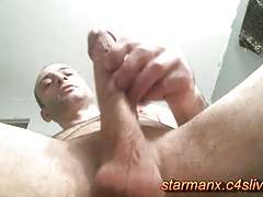 Starman X - Sexy guy jerks big cock