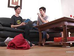 Latin Twinks Joel and Isaac Bareback