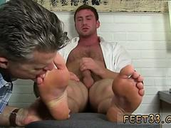 Gay guy putting toes up his ass Connor Gets Off Twice Being Worshiped