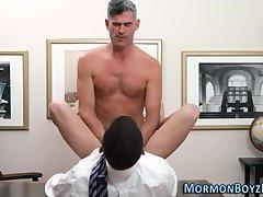 Uniformed mormon pounds