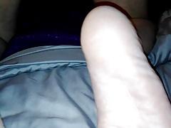 Fresh shaved spanking.