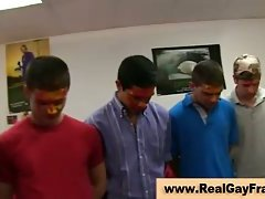 Gay hazing fun at college party