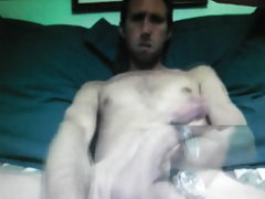 Huge horse cock dude on cam