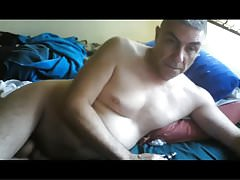 daddy naked in bed
