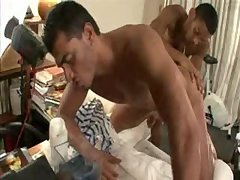 Underwear model gets drilled