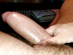 hot masturbation fat cock