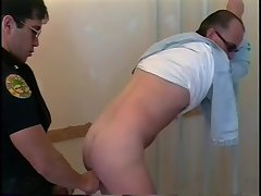 Randy Cops Ass Banging
