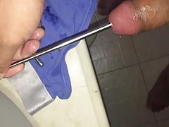 Insert 3 urethral bullet to prostate