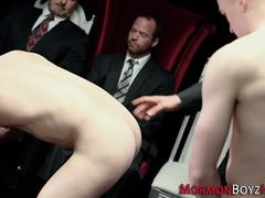 Gay mormons shoot cum