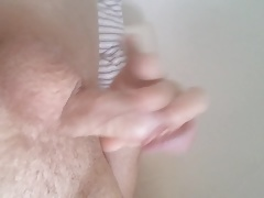 I cum watching belami